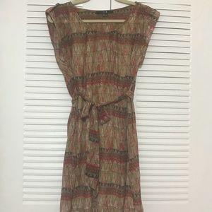 Patterned Fall Dress